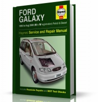 INSTRUKCJA FORD GALAXY (1995-2000)