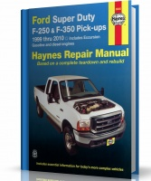 INSTRUKCJA FORD SUPER DUTY, F-250 i F-350 PICK-UPS, EXCURSION (1999-2006)
