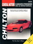 GENERAL MOTORS CHEVROLET CAMARO / PONTIAC FIREBIRD 1993-02