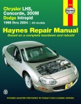 INSTRUKCJA CHRYSLER LHS, CONCORDE, 300M i DODGE INTERPID (1998-2004)