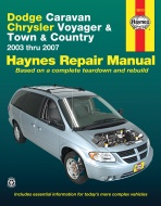 CHRYSLER TOWN & COUNTRY (2003-2007) INSTRUKCJA NAPRAW