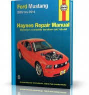 FORD MUSTANG (2005-2014) USA - Opis naprawy i budowy Haynes