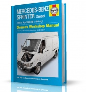 INSTRUKCJA MERCEDES-BENZ SPRINTER (1995-2006)