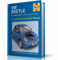 INSTRUKCJA VW BEETLE - VW GARBUS (1999-2007)